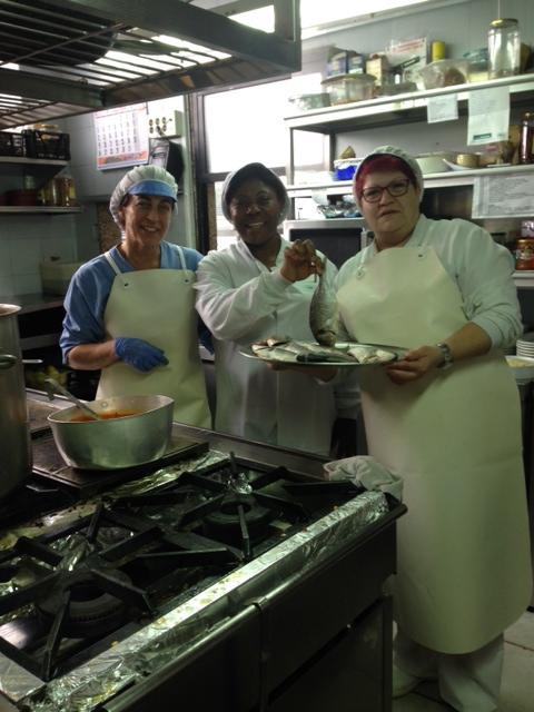 cocineras dorada