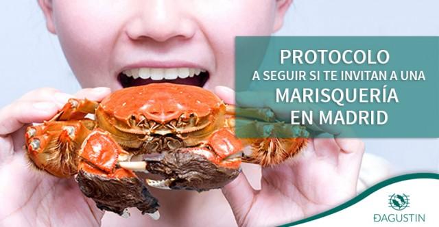 Protocolo marisqueria Madrid